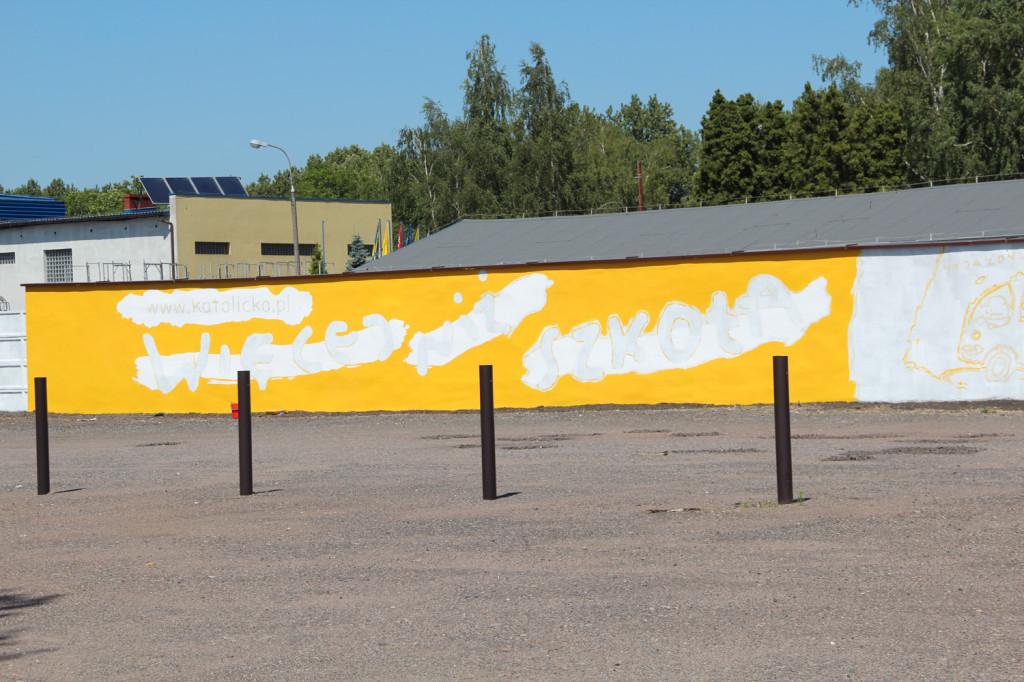 Szkoła Katolicka w Zabrzu - Mural