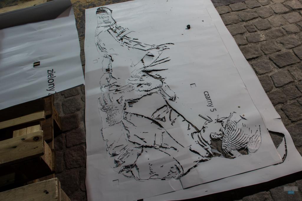 bar podworko_Gliwice_artystyczne _malarstwo_na_ścianie_w_pubie_barze_restauracji_08