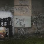 Mural - przenikanie
