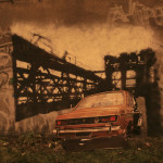 Mural inspirowany grą Grant Theft Auto