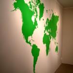 Mapa świata mural » MURALE Art